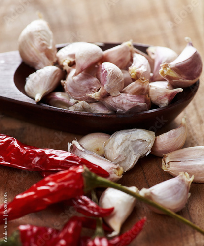 Garlic and pepper c