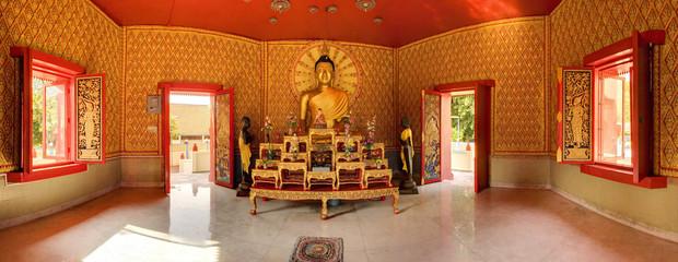 Buddha at Wat Chaiya Mangkalaram Temple, Penang, Malaysia