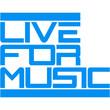 Live For Music Logo