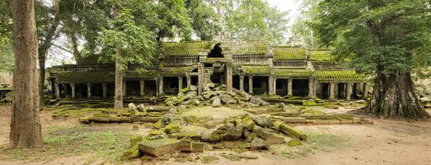 Derelict North Entrance, Ta Prohm Temple, Angkor Wat, Cambodia