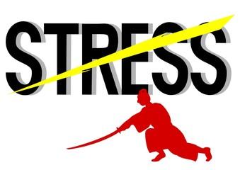 ストレスを切る