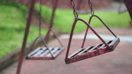 Antique Deserted Swings Dolly