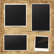 Set of vintage retro photo frames - 58908178