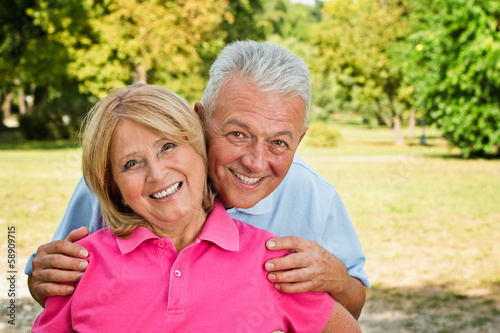 Healthy Senior Couple