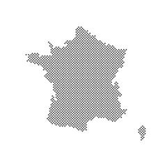 Frankreich Karte Punkte