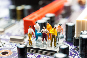 コンピューターと人々