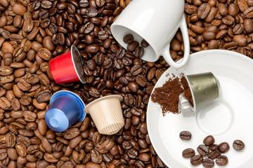 Kaffeebohnen Kapseln