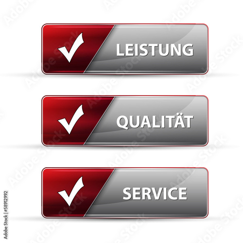 service button set