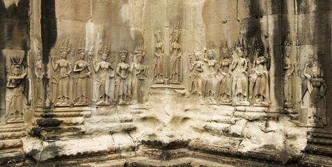 Devata's, Angkor Wat Temple, Cambodia
