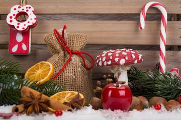 dekorative adventszeit