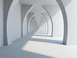 A long corridor - 58913510