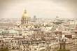 Paris in sepia tone