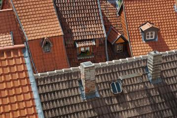 Über den Dächern von Quedlinburg
