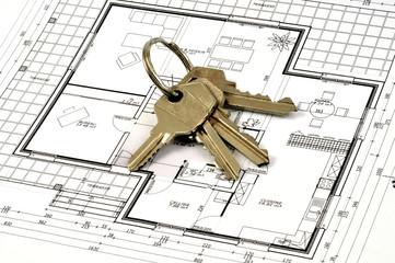 Les clés de la future maison