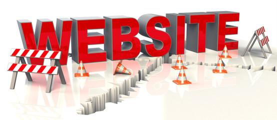 Baustelle WEBSITE