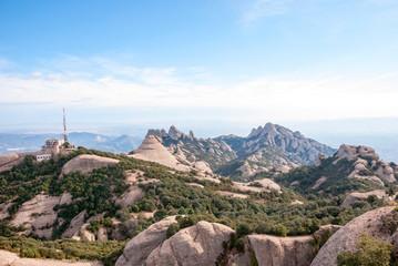 Mountains of Montserrat, near Barcelona