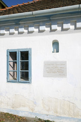 The birthplace of slovak revivalist Juraj Fandly