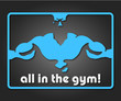 design a banner or badge for the gym
