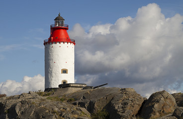 Landsort lighthouse, Sweden.