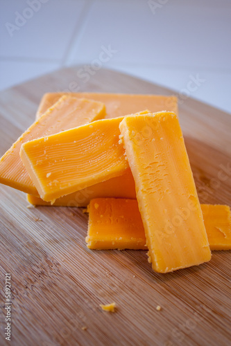 Cheddar Cheese Block and Slices