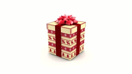 VID - 3D - Christmas Gift Box (I)
