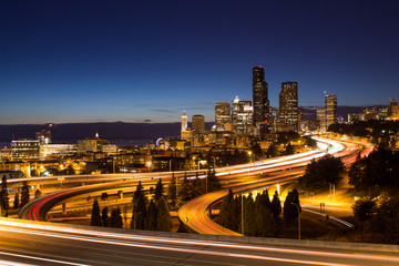 Seattle skyline, Etats-unis