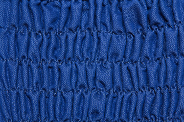 Blue Pleated dress  texture.