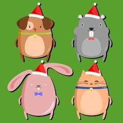 Chubby Pet Christmas Set