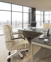 Luxury Office Area (focus)