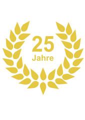 Lorbeerkranz 25 Jahre