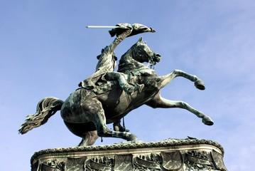 Kaiserliche Statue in Wien