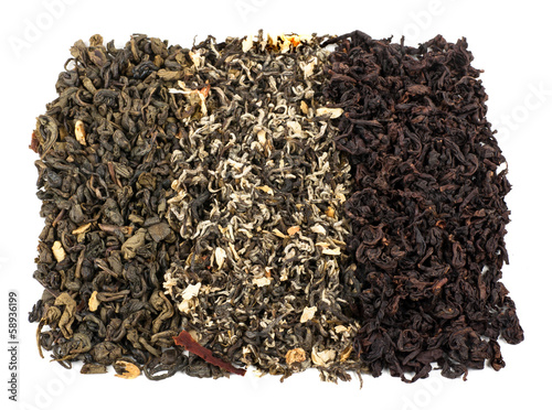 tea loose dried tea leaves