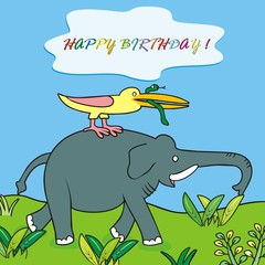happy birthday-elephant