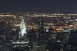 Obrazy na płótnie, fototapety, zdjęcia, fotoobrazy drukowane : New York City - night view