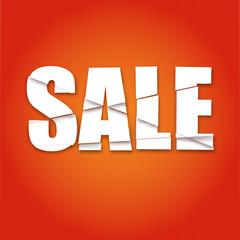 Lettering, Sale, dynamic background