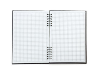 checked note book paper