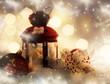 Red Christmas lantern