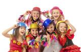 Fototapety Happy beautiful children