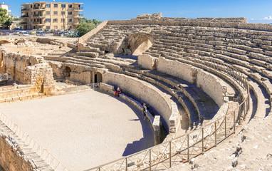 Roman Amphitheatre in Tarragona Spain