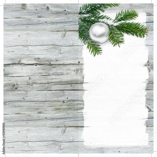 Frohes Fest, Weihnachtskarte, Holz, Maler, Lackierer