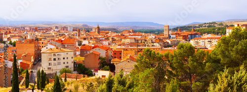 Panoramic day view of Teruel