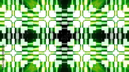 Kaleidoscope Stage Looped Green