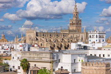 The Cathedral of Saint Mary of the See in Seville