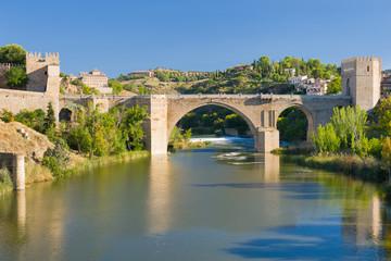 The Alcantara Bridge in Toledo