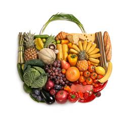 Foods made handbag