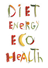 Diet, energy, eco, health