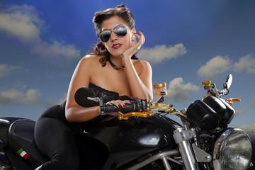 Girls enjoy bikes too