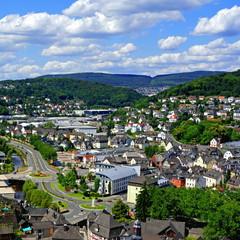 DILLENBURG ( Hessen ) - Stadtpanorama