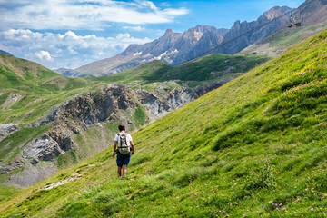 Trekking in the Spanish Pyrenees