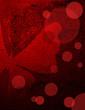 Grunge red-black paper